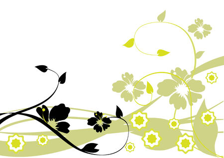 abstract floral background Stock Vector - 7300776