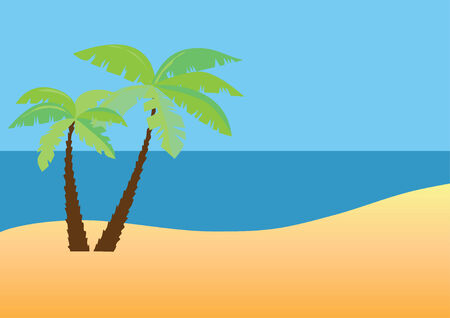 beach 向量圖像