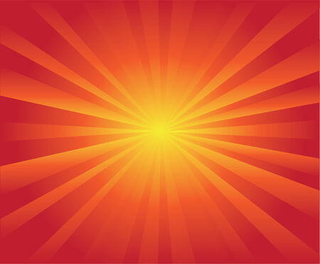 ray of light: retro sunburst
