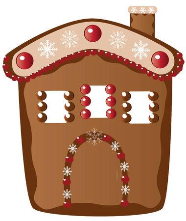 ginger house 向量圖像