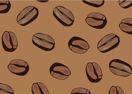 coffee background 向量圖像