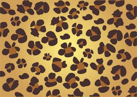 couleur de peau: texture de la peau de l�opard  Illustration