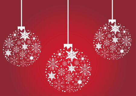 christmas tree balls Stock Vector - 8106847