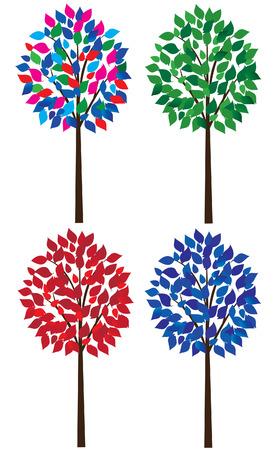 ot: set ot trees Illustration