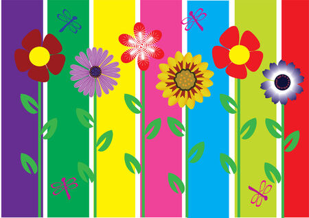vectro abstract floral background Stock Vector - 8627079