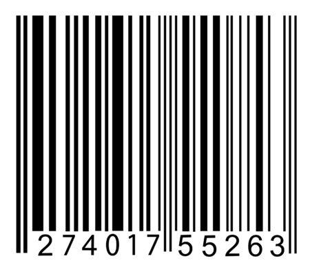 Vector barcode Stockfoto - 8891986
