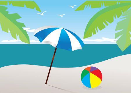 vectro beach Vector