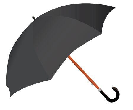 umbrella isolated on white background Ilustração