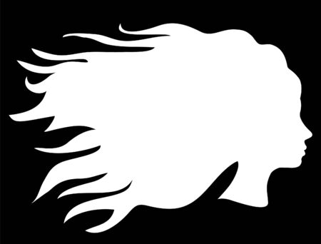 head silhouette Vector