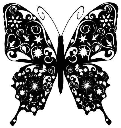 Flores de mariposa Foto de archivo - 11223337