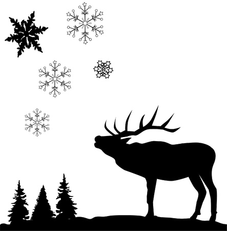 deer Stock Vector - 11223338