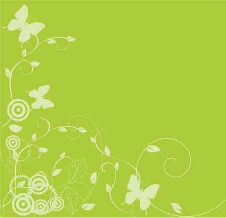 vector florale achtergrond