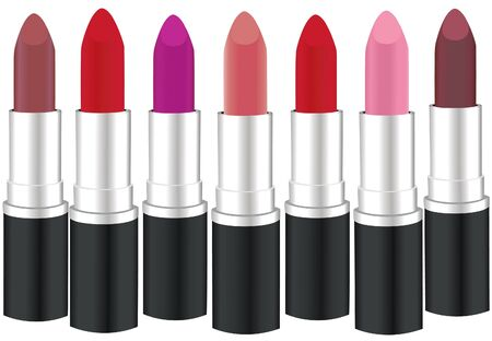 vector lipsticks