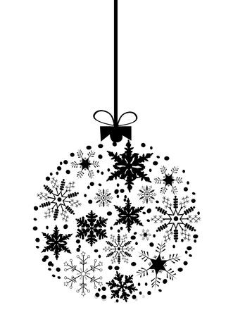 vector snow ball
