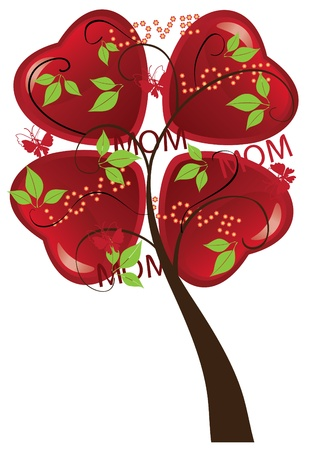 tree for mother's day Stock Vector - 13449668