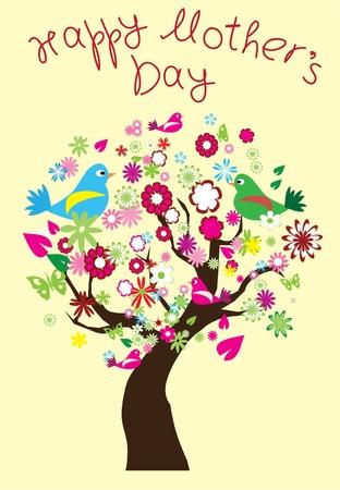 Karte für Mutter s Tag Standard-Bild - 13449661