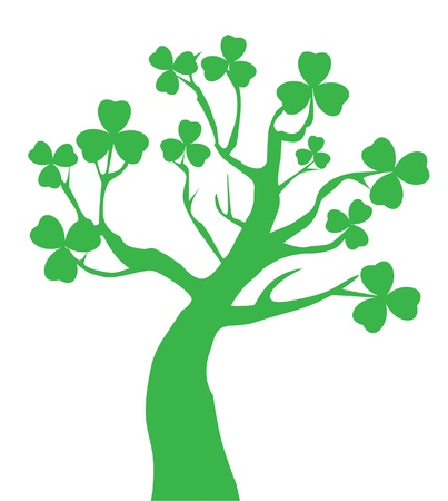 vector tree for St  Patrick day Stock Vector - 17680945