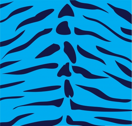 human skin texture: vector blue tiger skin