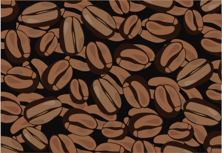 vector coffee background Vector