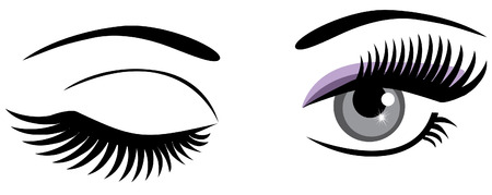beaux yeux: un clin de ?il yeux