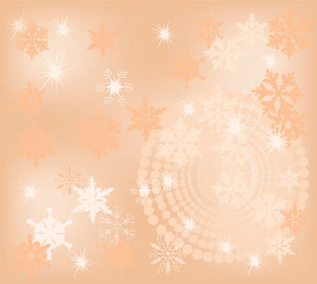 froze: vector abstract christmas background