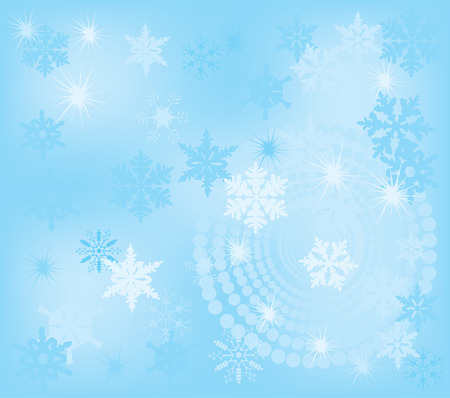 froze: vector abstratc Christmas background Illustration