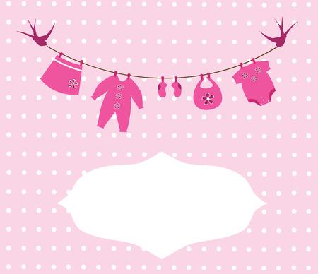 vector newborn baby clothes