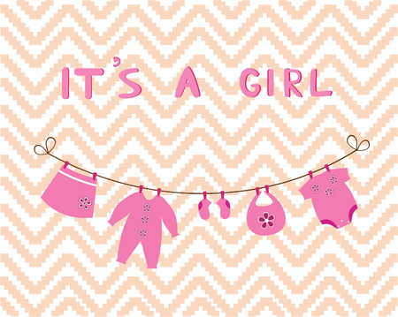 ropa de beb�: reci�n nacido tarjeta de ropa de beb�