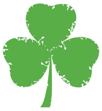 celtic shamrock: vector shamrock Illustration