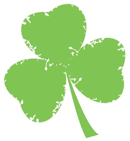 irish culture: vector shamrock for st. Patrick day Illustration