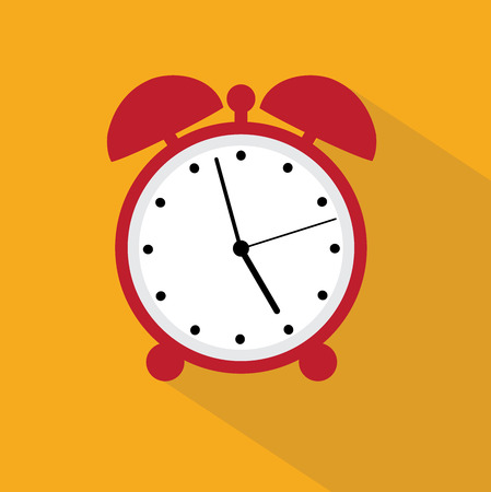 clang: illustration of an alarm clock icon