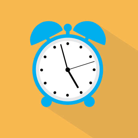 interim: vector illustration of an alarm clock Illustration