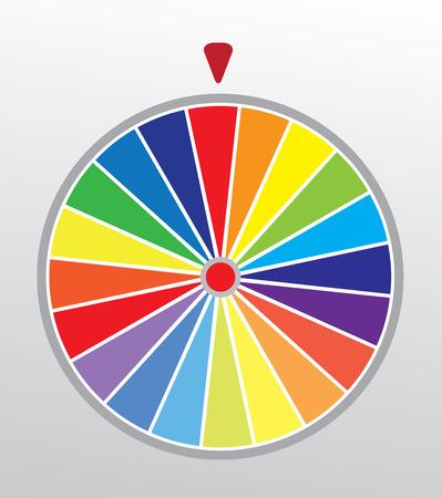 rueda de la fortuna: ilustraci�n vectorial de una rueda de la fortuna Vectores