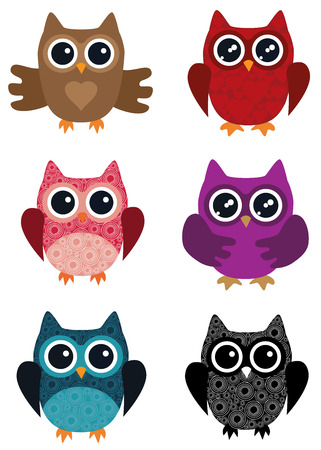 278 Three Owls Stock Vector Illustration And Royalty Free