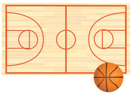 vector illustration of sport balls background Banco de Imagens - 56728995