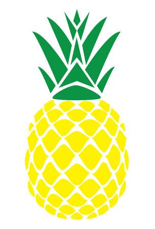 vector illustratie van een ananas