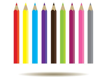 black and white image: vector illustration of a school background with pencils