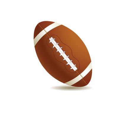 bowls: illustration of sport ball american football Illustration