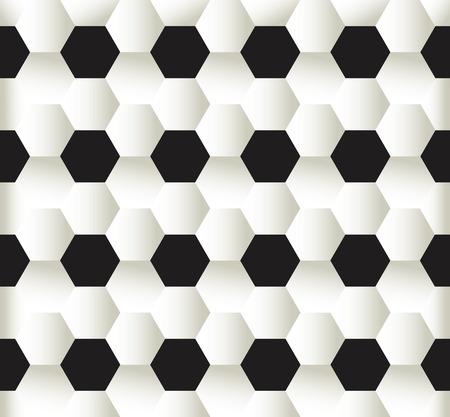 illustration of seamless pattern football soccer background Stok Fotoğraf - 64656557
