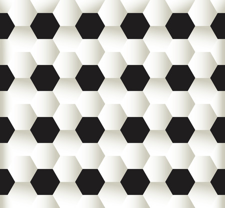 illustration of seamless pattern football soccer background