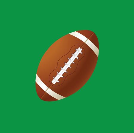 american sport: vector illustration of sport ball american football