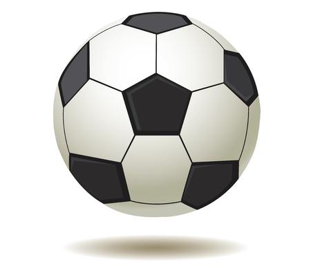 vector illustration of a sport soccer football ball