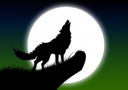 moon rode wolf