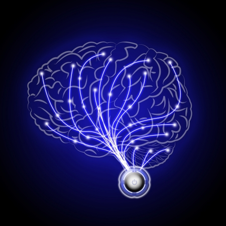 impulse: abstract brains human  Stock Photo