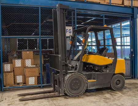 forklifts freight Stock Photo - 22542422