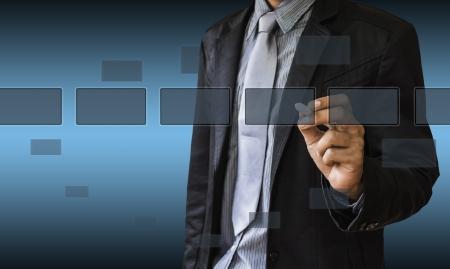 business communication: Business communication. Stock Photo