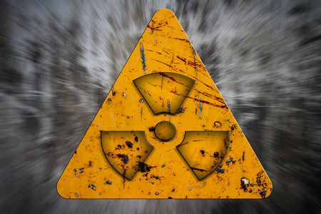 radiation sign Stock Photo - 27592902