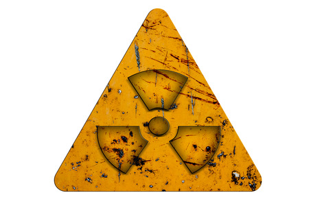 radiation sign Stock Photo - 27592907