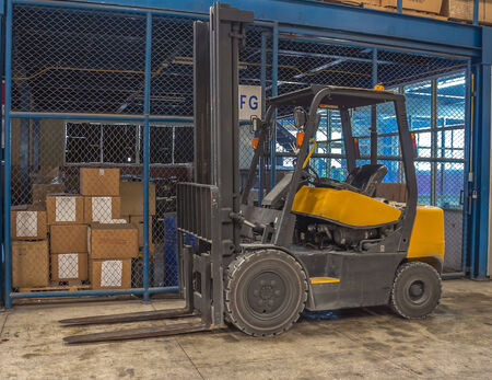 forklifts: forklifts Stock Photo
