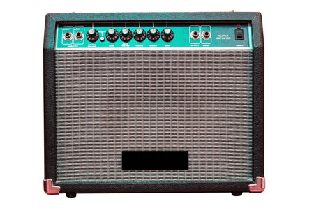 guitar amp Stock Photo - 27625812